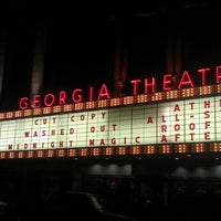 Photo taken at Georgia Theatre by Amanda V. on 9/29/2011