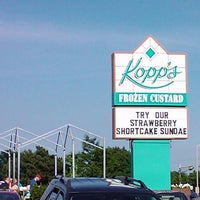 Photo taken at Kopp's Frozen Custard by K. K. on 6/27/2011