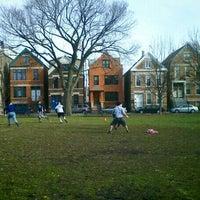 Photo taken at Holstein Park by Daniel K. on 11/12/2011