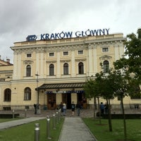 Photo taken at Kraków Główny by Michel P. on 7/22/2011