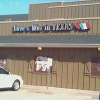 Photo taken at Love & War in Texas by lori d. on 11/5/2011
