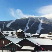 Photo taken at Stowe Mountain Resort by KMP Blog on 1/21/2011