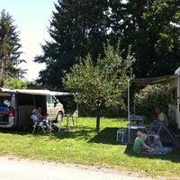Photo taken at Dorfheuriger Camping by Caroline K. on 8/18/2011
