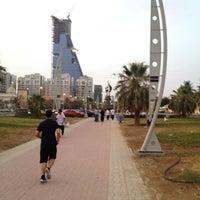 Photo taken at Al Corniche Walk by Sultan S. on 7/14/2012
