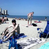Photo taken at Kathy Osterman (Hollywood) Beach by Richard S. on 10/8/2011