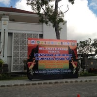 Photo taken at Bali Nusa Dua Convention Center (BNDCC) by Nancy A. on 7/12/2012