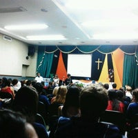 Photo taken at Anfiteatro CCR by Guilherme L. on 4/3/2012