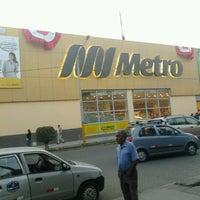 Photo taken at Metro by Herminio I. on 7/25/2012
