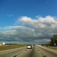 Photo taken at I-4 by Stephanie K. on 12/26/2011