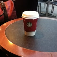 Photo taken at Starbucks Coffee by Irinka 🎯 A. on 1/11/2012