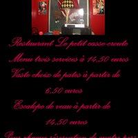 Photo taken at Le Petit Casse-croute by le petit c. on 1/15/2012