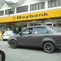Photo taken at Maybank by Cy R. on 1/4/2012