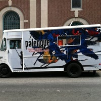 Photo taken at Palenque Colombian Food Truck by max o. on 9/5/2011
