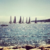 Photo taken at America's Cup Village by Ada on 4/15/2012