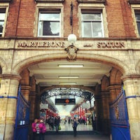 Photo taken at London Marylebone Railway Station (MYB) by John Chang Young K. on 8/12/2012