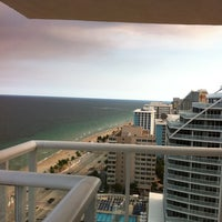 Photo taken at Hilton Fort Lauderdale Beach Resort by Rob B. on 9/15/2011