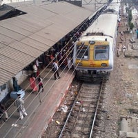 Photo taken at Thane Railway Station by Jugal P. on 1/22/2012