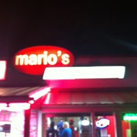 Photo taken at Mario's Pizza House by Roshan S. on 3/9/2012