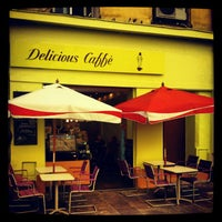 Photo taken at Delicious Caffè by Iarla B. on 4/26/2012