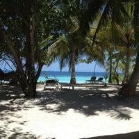 Photo taken at Vilamendhoo Island Resort & Spa by Sara H. on 5/7/2012