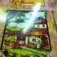 Photo taken at El Meson Mexican Restaurant by Emily B. on 3/25/2012