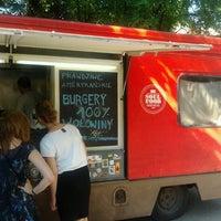 Photo taken at Soul Food Bus by Wojciech J. on 6/16/2012