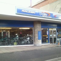 Photo taken at Sheffield Cycles by PilgrimChris on 1/19/2012