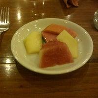 Photo taken at Cirangga Resto - Singgasana Makassar Hotel by Felicia P. on 4/10/2012
