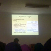 Photo taken at Ruang Kuliah 403 Fakultas Kedokteran UMI by Tuty M. on 11/2/2011