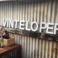 Photo taken at Vinteloper's Urban Winery Project by Samantha C. on 3/25/2012