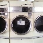 Photo taken at Newville Laundromat by Chris D. on 4/24/2012