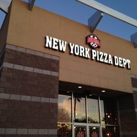 Photo taken at NYPD Pizza by Chris C. on 2/23/2012