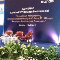 Photo taken at Mandiri Prioritas Plaza Mandiri by Fajar S. on 7/12/2012