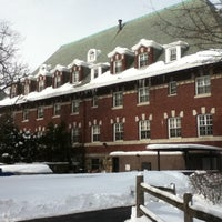 Photo taken at Pace University Dow Hall by Chris G. on 1/29/2011