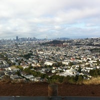 Photo taken at Bernal Heights Park by Dan P. on 8/1/2011