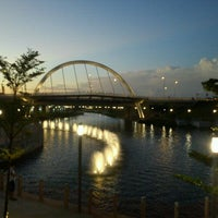 Photo taken at Punggol Waterway Park by Nicholas C. on 11/9/2011