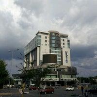 Das Foto wurde bei Radisson Blu Gautrain Hotel von fm.no.mad/ZA am 12/23/2011 aufgenommen
