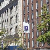Photo taken at NYU 726 Broadway Building by Masaya H. on 8/24/2011