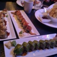 Photo taken at Blue Ocean Contemporary Sushi by Erik B. on 1/22/2012