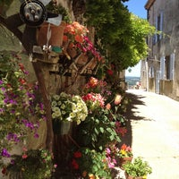 Photo taken at Pujols-le-Haut by Igor L. on 7/16/2012