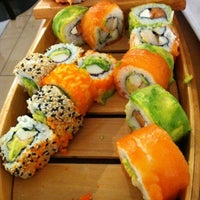 Photo taken at Sushihana by Patricia E. on 8/17/2012