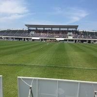 Photo taken at 郡山市営西部サッカー場 by kobakuri on 6/24/2012