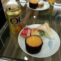 Photo taken at Korean Air Lounge by Donghwan K. on 7/26/2012