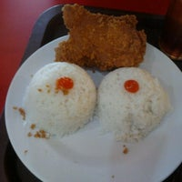 Photo taken at oLive Fried Chicken by Tatank H. on 12/26/2011
