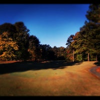 Photo taken at Fox Creek Golf Course and Driving Range by Victor H. on 10/23/2011