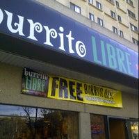 Photo taken at Burrito Libre by Daniel D. on 10/18/2011