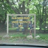 Photo taken at URJ Olin-Sang-Ruby Union Institute (OSRUI) by Bradley E. on 8/19/2012