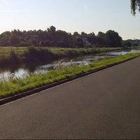 Photo taken at Kanaal Leuven - Dijle by Ignace L. on 7/23/2012