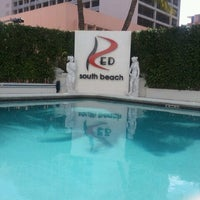 Photo taken at RED South Beach Hotel by Johanne J. on 10/23/2011