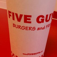 Photo taken at Five Guys by Michelle P. on 11/29/2011